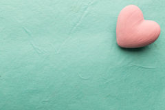 Pink heart. Royalty Free Stock Photos