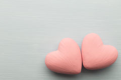 Pink heart. Stock Photography