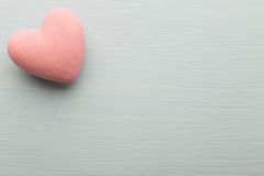 Pink heart. Stock Images