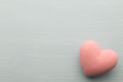 Pink heart. Royalty Free Stock Images