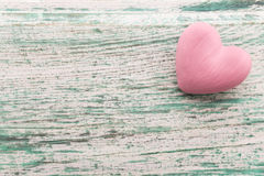 Pink heart. Royalty Free Stock Photography