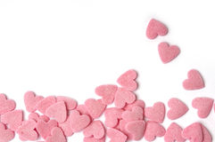 Pink Hearts Royalty Free Stock Images