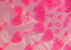 Pink hearts background Royalty Free Stock Photography
