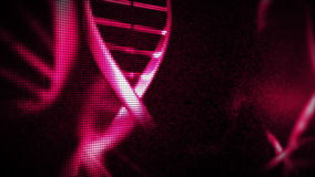 Pink helices Royalty Free Stock Images