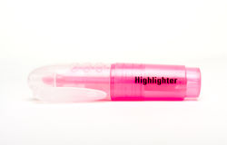 Pink Highlighter Royalty Free Stock Photos