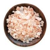 Pink Himalayan Rock Salt Stock Image
