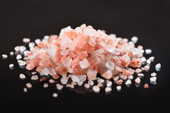 Pink Himalayan Salt Royalty Free Stock Photography