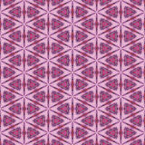 Pink hippie pattern. Pink hippie style pattern, tiles seamless Royalty Free Stock Photography