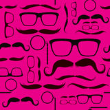 Pink Hipster Pattern Background Royalty Free Stock Photography