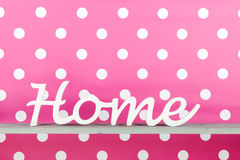 Pink at home Royalty Free Stock Images