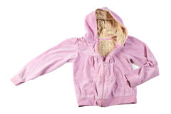 Pink hoodie Royalty Free Stock Images