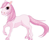 Pink Horse Royalty Free Stock Images
