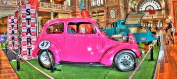 Pink hot rod Royalty Free Stock Photo