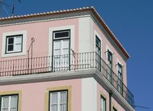 Pink house Royalty Free Stock Photo
