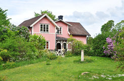 Pink house Royalty Free Stock Photography