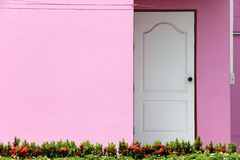 Pink House Stock Photography