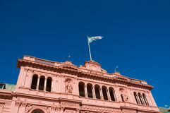 Pink house, Buenos Aires. Royalty Free Stock Image