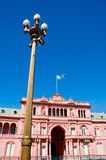Pink house, Buenos Aires. Pink house, official house of the president of Argentina Stock Photo