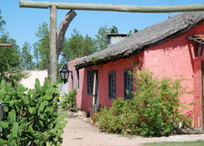 Pink hut Stock Photography