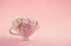 Pink hydrangea flowers Royalty Free Stock Image