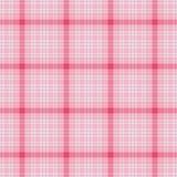Pink Hydrangea Plaid Royalty Free Stock Photos