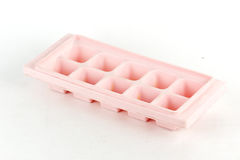 Pink Ice Tray Royalty Free Stock Photos