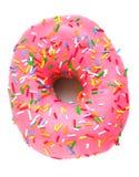 Pink Iced Doughnut Royalty Free Stock Photos