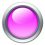 Pink icon Royalty Free Stock Image