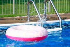 Pink Inner Tube Stock Image