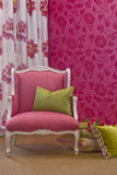 Pink Interior. Still life interior setting abounding in pink Royalty Free Stock Photos