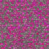 Pink irregular tiles Stock Images