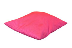Pink isolated pillow Stock Photography