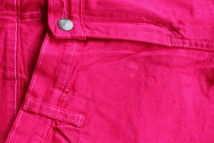 Pink jeans Royalty Free Stock Images