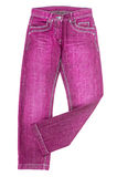 Pink jeans Royalty Free Stock Photo