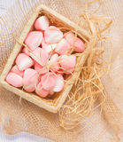 Pink jelly sweets. Stock Photography