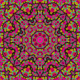 Pink kaleidoscope Stock Image