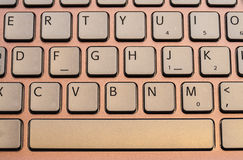 Pink keyboard Royalty Free Stock Photo