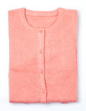 pink knit sweaters Royalty Free Stock Images
