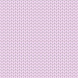 Pink knitted seamless pattern, knit stockinette stitch Royalty Free Stock Photos