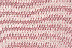 Pink knitted texture Stock Image