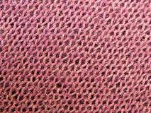 Pink knitting Stock Photo