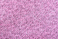 Pink Knitting or Knitted Fabric Texture Pattern Background Stock Photos