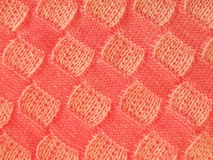 Pink knitting texture Royalty Free Stock Photography