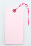 Pink labeltag Royalty Free Stock Photo