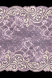 Pink lace Stock Image