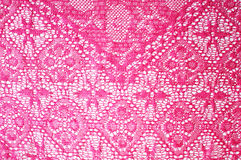 Pink lace Stock Photos