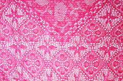 Pink lace Stock Photos