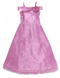 Pink lace dress Royalty Free Stock Photos