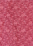 Pink Lace Fabric Textile Texture Royalty Free Stock Photo