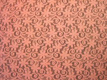 Pink lace fabric royalty free stock photography